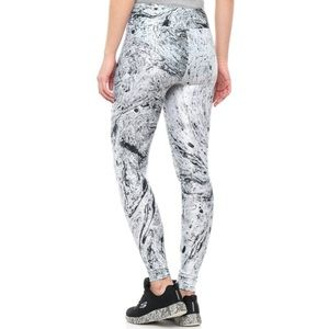 NWT Koral Lustrous Leggings Marbled Ink Medium